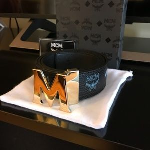 MCM Belt Black Color